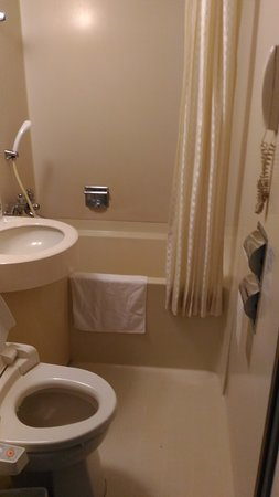 ibis Styles Osaka Namba: Salle de bains et toilettes japonais sur la gauche