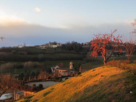 Gabiano, Italy: Bei panorami