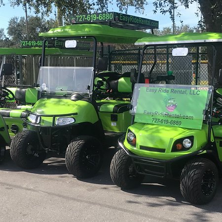 Belleair, FL: Make it an Easy ride rental day ! Call or email us .