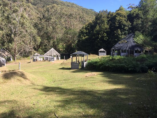 Stanwell Tops, ออสเตรเลีย: This is our Village Field which was built as part of a movie set.