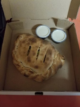 Baldwin, WI: Calzone  Buffalo Chicken