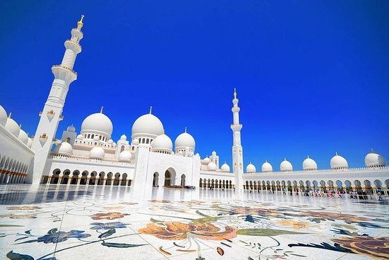 Sheikh Zayed Mosque with a...
