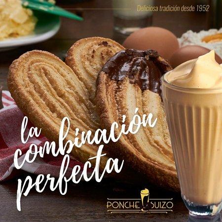 Ponche Suizo Baños Coffee Shop ... Patrimonio Gastronómico del Ecuador