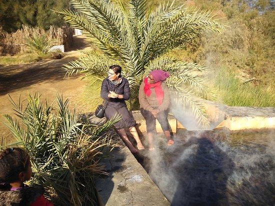גיזה, מצרים: The hot springs at El Bahria Oasis