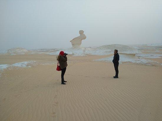 גיזה, מצרים: The White Desert figurations