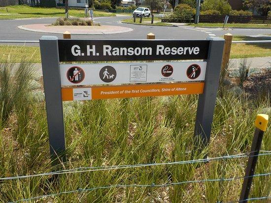 G h ransom reserve