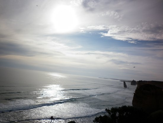Great Ocean Road, Australia: Taking in the immense views ;-)  Did the things yesterday, others didn't, that's why today I have and continue to do the things others may only dream about ;-)