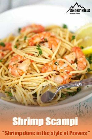 Salt Point, Nova York: Shrimp Scampi 🍤🍤 cooked with passion 😍😍 #shorthills