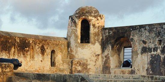 Fort jesus in the coast of Kenya