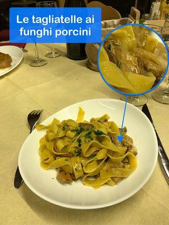 Cibiana di Cadore, Италия: Le Tagliatelle ai Funghi Porcini