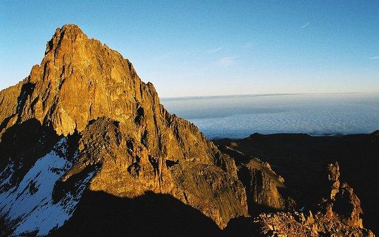MT Kenya the highest peak in Kenya