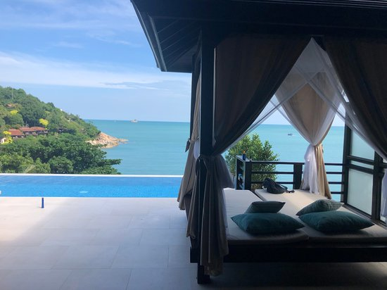 Tongsai Bay Cottages & Hotel: terrace view