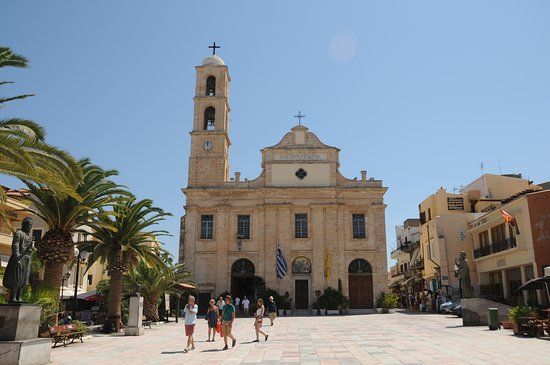 Chania Prefecture, Greece: CHIESA DI CHANIA