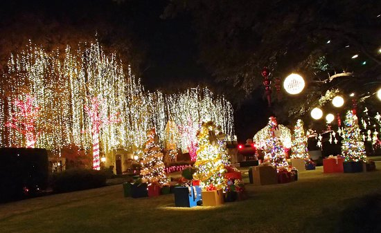 Dallas by Chocolate Tours : Christmas lightseeing on Dallas by Chocolate tour