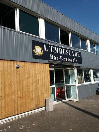 Neufchatel en Bray, France : A l'entrée de la zone d'activité de Neufchâtel en bray