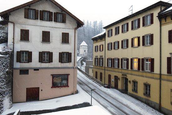 Tiefencastel, Switzerland: Snowy Switzerland