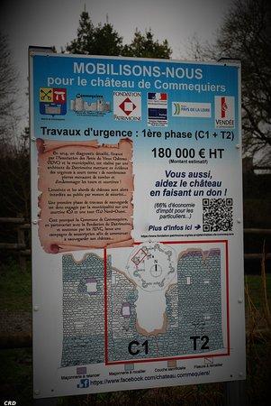 Commequiers, Francia: Un grand projet de restauration