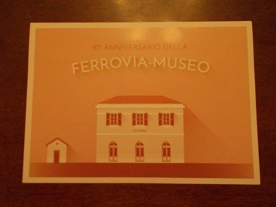 Colonna, Italie : cartolina