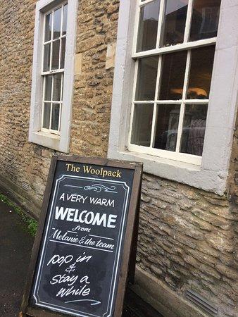 Beckington, UK: So friendly - before you've even got in the door!