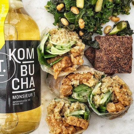 rouleaux tempeh (le meilleur au monde!) - boîte repas