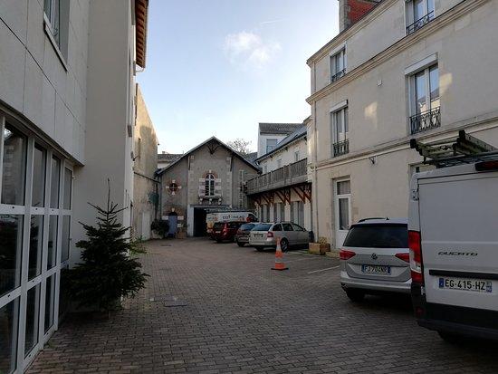 Hotel de l'Europe: Il parcheggio interno