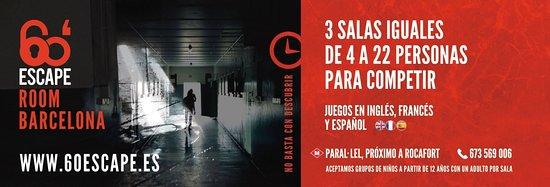 60' Escape Room Barcelona