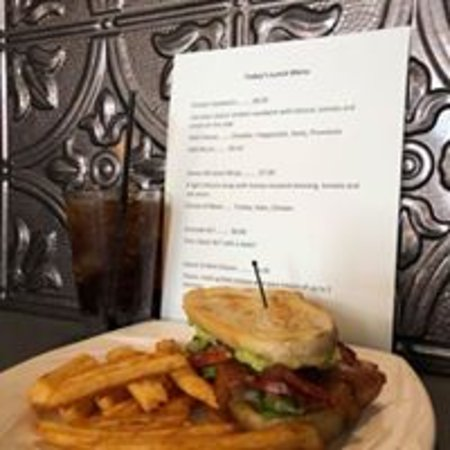 2nd & Main Coffeehouse and Pub: Many different sandwich options!