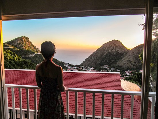 The Bottom, Saba: View from our Superior Suite
