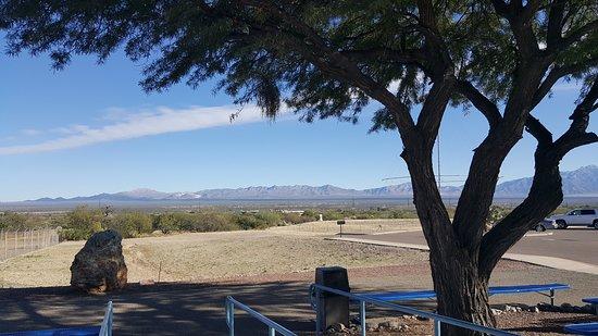 Sahuarita, AZ: view from the museum
