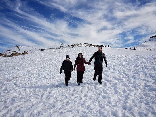 Valle Nevado, Chile: Passeio com a família😁❤