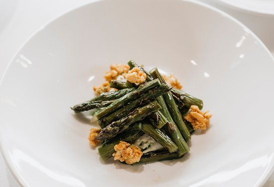 Asparagus Stracciatelle