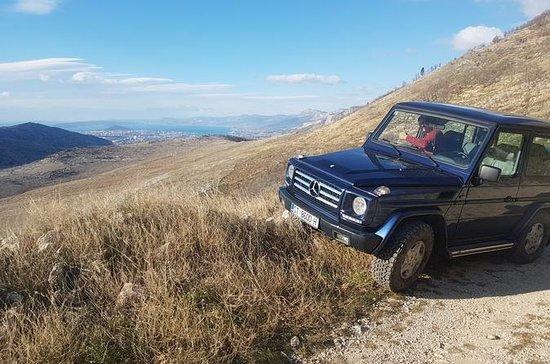 Jeep y safari por el río Mosor Cetina...
