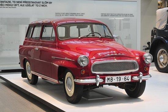 Excursão privada à fábrica de carros...