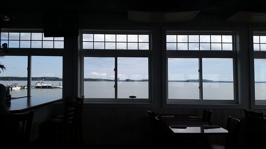 The Ruddy Duck Seafood & Alehouse: view