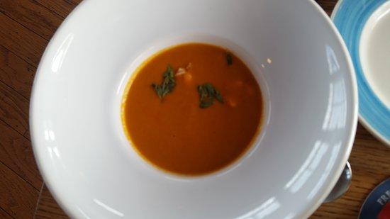 The Ruddy Duck Seafood & Alehouse: lobster bisque