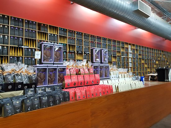 Margaret River Chocolate Company: Counter