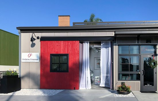 The front entrance to the Studio/ Gallery at 439 South Cedros, Solana Beach, 92075 which can be located on the lower level of the Cedros Collective.