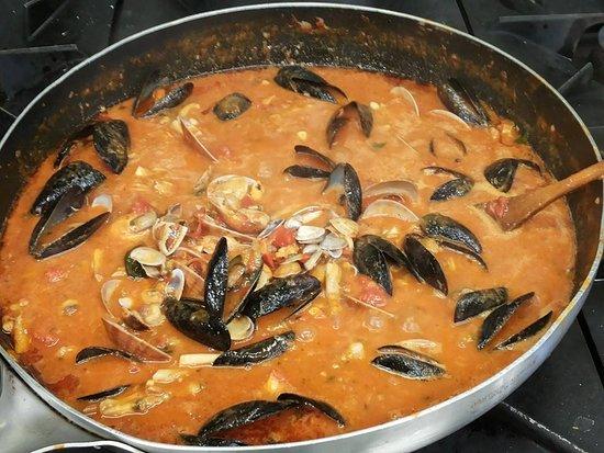 Santa Maria di Rispescia, Italy: מתמחה בדגים ופירות ים