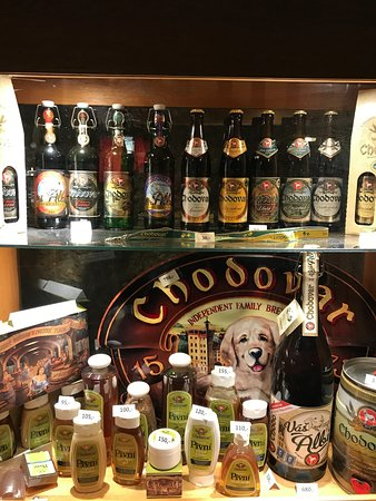 Chodova Plana, Czech Republic: Пиво