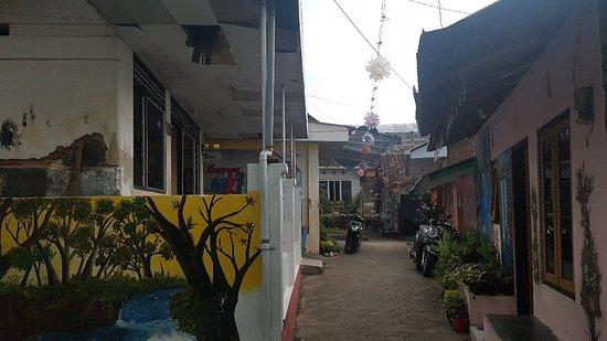 Banyuwangi, Indonesien: Kampung Lukis Kaempuan