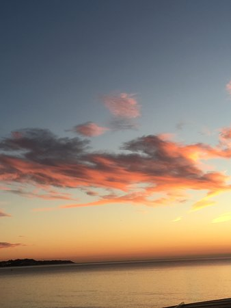 Sunrise in Alicante from hotel room
