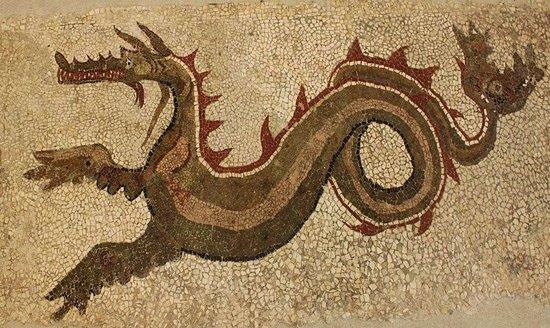 Varapodio, Italia: il Dragone di Monasterace