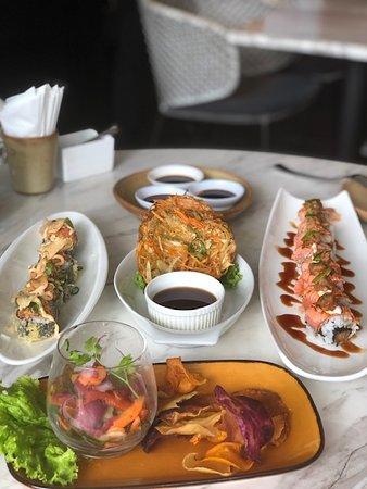 ceviche & sushi