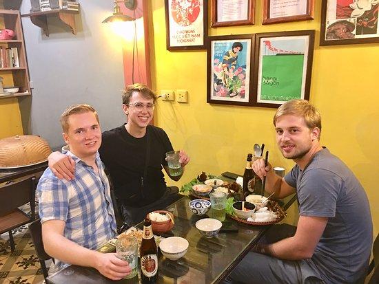 Cai Mam's lovely customers