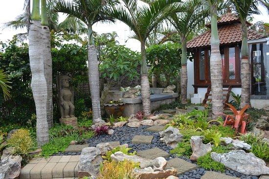 Trafalgar, Sudáfrica: Peaceful garden