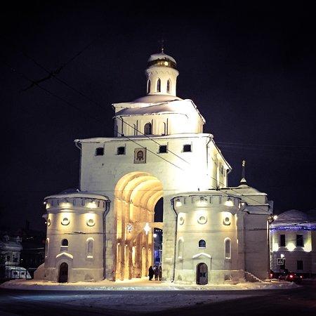Ночной Владимир.