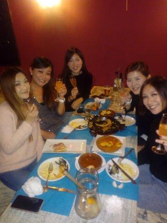 Nuestras clientas de Hong Kong.