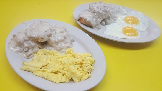 Turners Falls, MA: House made Sausage Gravy and Biscuts