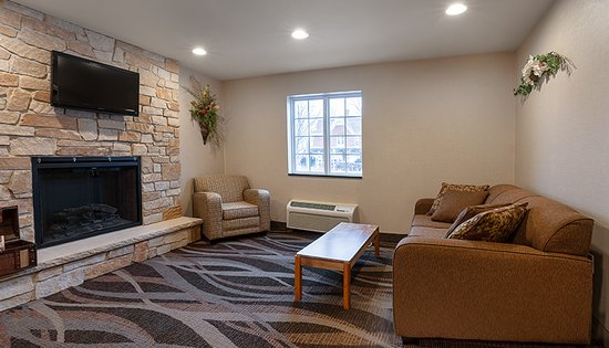 Durand, WI: Family Area by front desk