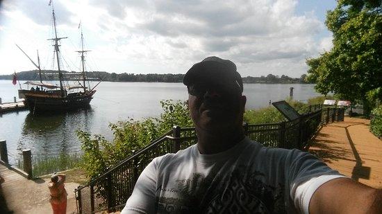 Saint Mary's City, แมรี่แลนด์: dock